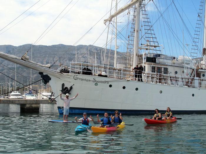 Kayak-y-Paddle-Surf
